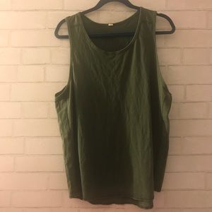Lululemon Olive Men's Tank